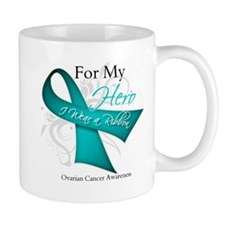 For My Hero Ovarian Cancer Mug