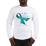 For My Hero Ovarian Cancer Long Sleeve T-Shirt