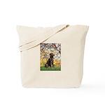 Spring / Choc Lab 11 Tote Bag