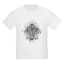 Faith Cross Ovarian Cancer T-Shirt