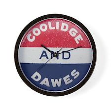 Coolidge-Dawes Wall Clock