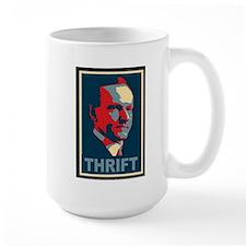 "Calvin Coolidge ""Thrift"" Mug"