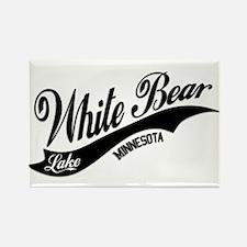 White Bear Lake, MN Rectangle Magnet