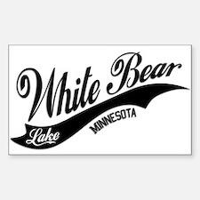 White Bear Lake, MN Sticker (Rectangle)