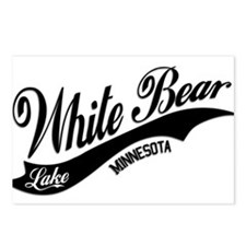 White Bear Lake, MN Postcards (Package of 8)