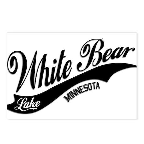 White Bear Lake, MN Postcards (Package of 8)