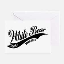 White Bear Lake, MN Greeting Card