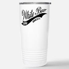 White Bear Lake, MN Stainless Steel Travel Mug