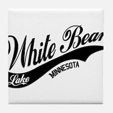 White Bear Lake, MN Tile Coaster