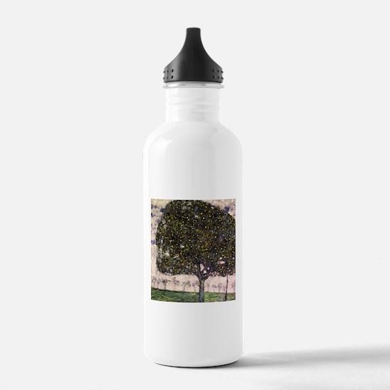 Cute Apple tree Water Bottle