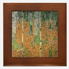 Cute Klimt Framed Tile