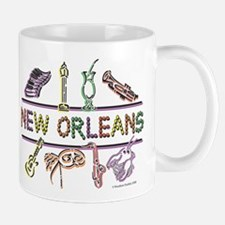 New Orleans Bead Design Mug