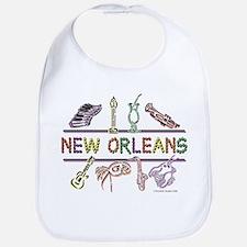 New Orleans Bead Design Bib