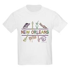 New Orleans Bead Design T-Shirt
