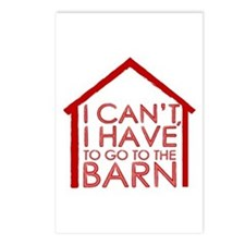 To The Barn Postcards (Package of 8)