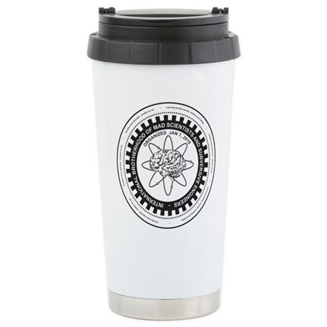 Mad Science Stainless Steel Travel Mug