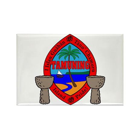 Guam Seal Rectangle Magnet (100 pack)