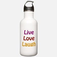 Live Love Laugh Water Bottle