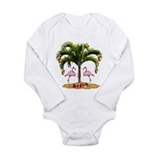 Tropical Holiday Long Sleeve Infant Bodysuit