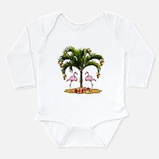 Tropical Holiday Long Sleeve Infant Bodysuit