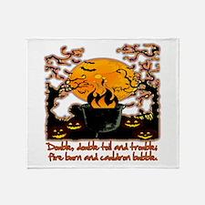 Cauldron Throw Blanket