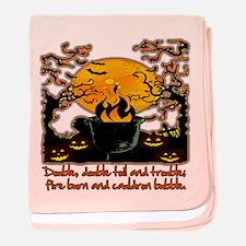 Cauldron baby blanket