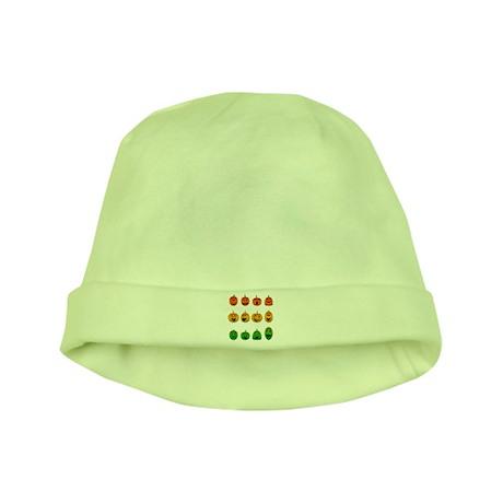 Jack-o-Lanterns baby hat
