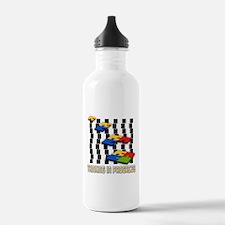Thinking In Progress Water Bottle
