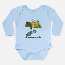 Wander Long Sleeve Infant Bodysuit