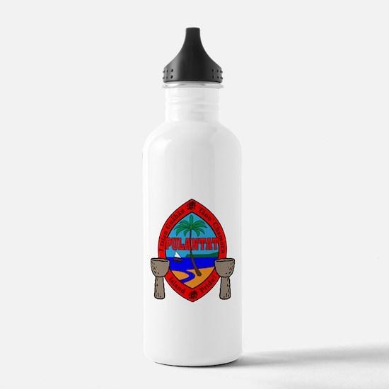 Guam Seal Water Bottle