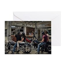 Born To Ride Birthday Card