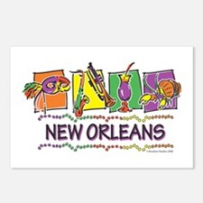 New Orleans Squares Postcards (Package of 8)