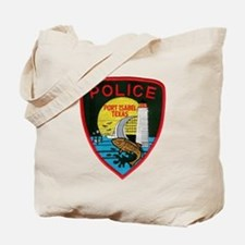 Port Isabel Police Tote Bag