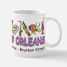 New orleans Mardi Gras Mug