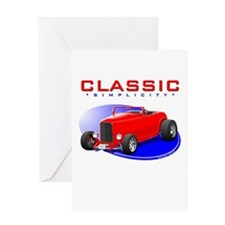 Classic Hot Rod Greeting Card