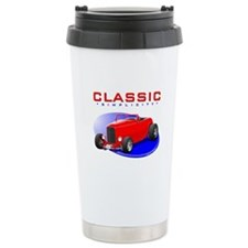 Classic Hot Rod Ceramic Travel Mug