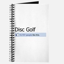 People Like Disc Golf Journal
