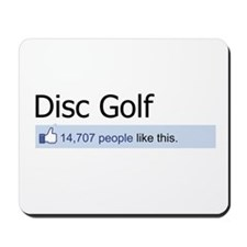 People Like Disc Golf Mousepad