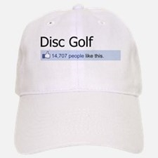 People Like Disc Golf Baseball Baseball Cap