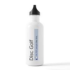People Like Disc Golf Water Bottle