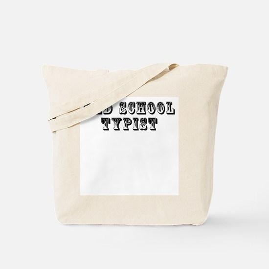 Old School Typist Tote Bag