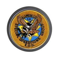 Alameda County SOG EOD Wall Clock