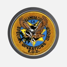 Alameda County SOG EOD Wall Clock
