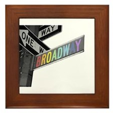 Broadway Framed Tile
