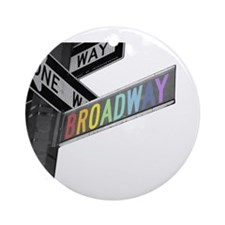 Broadway Ornament (Round)