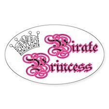 Pirate Princess Decal