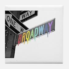 Broadway Tile Coaster
