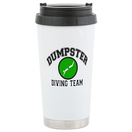 Diving Team Stainless Steel Travel Mug