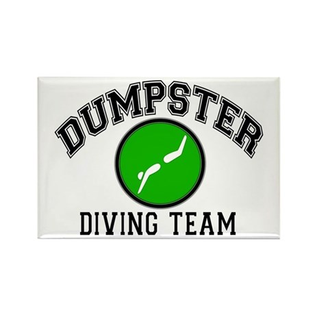 Diving Team Rectangle Magnet