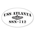 USS ATLANTA Sticker (Oval)